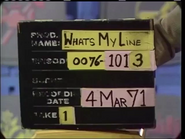 What's My Line (March 04, 1971)