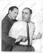 Martin Balsam and Eli Wallach