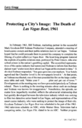Protecting a City's Image The Death of Las Vegas Beat 1961
