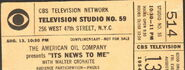 It's News to Me (August 13, 1954)
