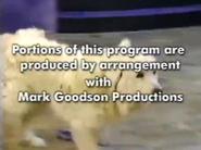 You Lie Like a Dog Mark Goodson Productions Disclaimer
