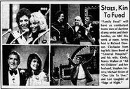 Soap Stars Real Families Clipping (November 14, 1983)
