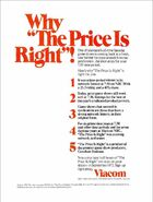 The Price Is Right ad 1972