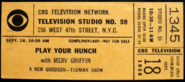 Play Your Hunch (September 18, 1958)