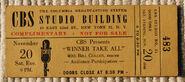 Winner Take All (November 20, 1948)