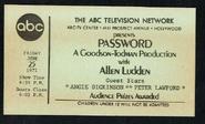 Password (June 25, 1971)