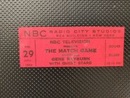 The Match Game (November 29, 1963)