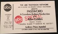 Password (July 17, 1971)