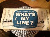 What's My Line?/Merchandise