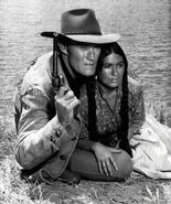 Chuck Connors Anne Morrell Branded 1965