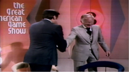Mark Goodson Shaking Hands with Monty Hall