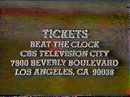 Clocktickets