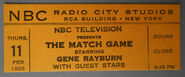 The Match Game (February 11, 1965)