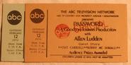 Password (February 12, 1972)