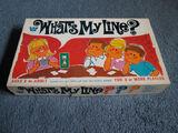 What's My Line? (1968)/Merchandise