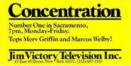 Concentration'77 Sacramento