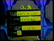 What's My Line (November 05, 1970)