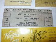 Call My Bluff (September 02, 1965)