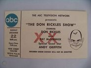 The Don Rickles Show (December 22, 1968)