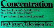 Concentration'77 Salt Lake City