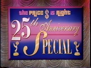 The Price is Right 25th Anniversary Special- August 23, 1996 (STUDIO MASTER!!!)