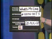 What's My Line (August 20, 1968)