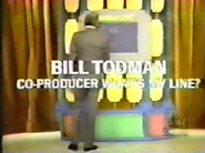 Bill Todman Introduction on WML 1973