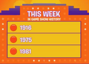 This Week in Game Show History 1916 1975 1981