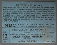 Play Your Hunch (June 12, 1961)