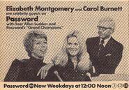 Password GC 1972