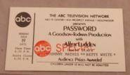 Password (July 19, 1971)