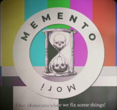 Memento Mori Waiting Screen