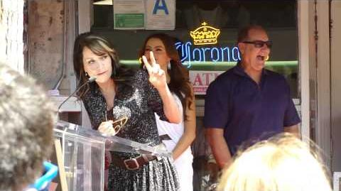 Katey Sagal and Sophia Vergara give their speeches at Ed O'Neill's Star Ceremony