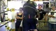 James toney sparring Preston Hartzog トニースパーリング