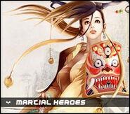 Martial heroes