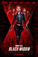 Black Widow November 6 poster