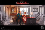 WandaVision D23 poster