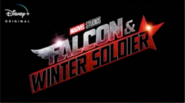 Disney plus Falcon and the Winter Soldier logo