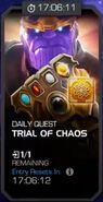 Trials of the Mad Titan - Trial of Chaos tile