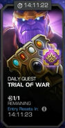 Trials of the Mad Titan - Trial of War tile