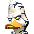 Venom the Duck portrait