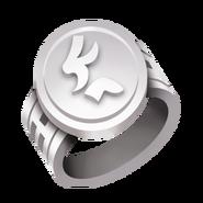 White Tournament Ring