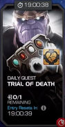 Trials of the Mad Titan - Trial of Death tile