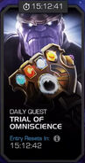 Trials of the Mad Titan - Trial of Omniscience tile