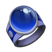 Dark Blue Tournament Ring