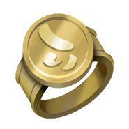 Gold Tournament Ring