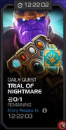 Trials of the Mad Titan - Trial of Nightmare tile