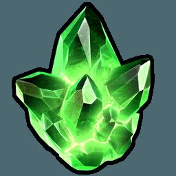Burning Mask Crystal