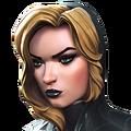 Black Widow (Claire Voyant) portrait