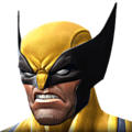 Wolverine portrait